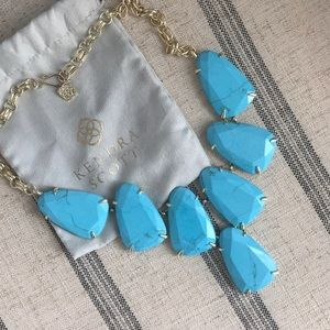 Kendra Scott Harlow Necklace - Turquoise